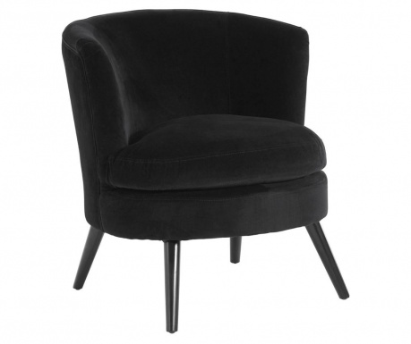 Plush Black Fotel