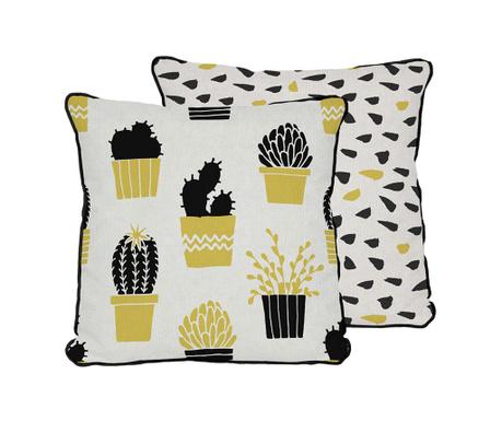 Ukrasni jastuk Cactus Pots Yellow 45x45 cm