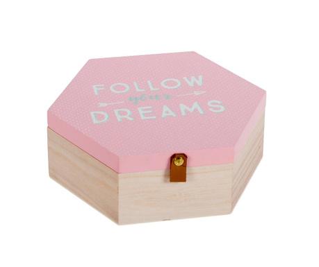Dreams Honey Pink Doboz fedővel