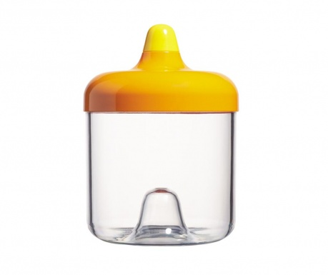 Recipient cu capac Mayday Orange 750 ml