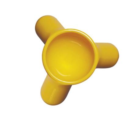 Podstavek za kuhano jajce Mayday Yellow
