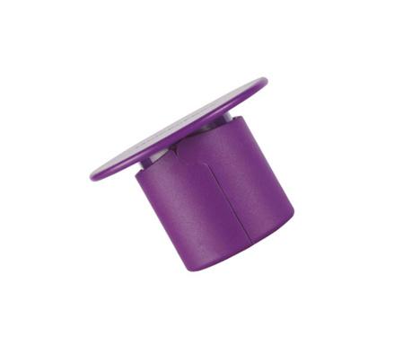 Dop pentru sticla de sampanie Hombre Friz Purple