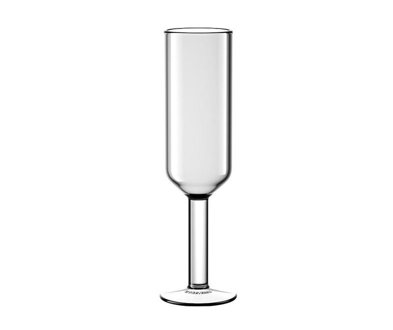 Pahar pentru sampanie The Good Times Transparent 160 ml