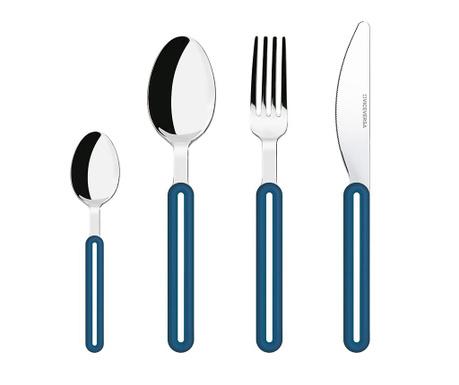 24-dijelni set pribora za jelo Offset Blue