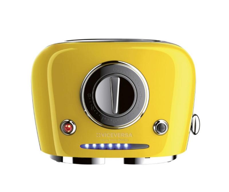 Тостер Tix Pop-up Yellow