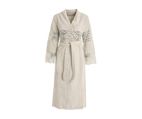 Дамски халат за баня Lacy Shawl Chalk