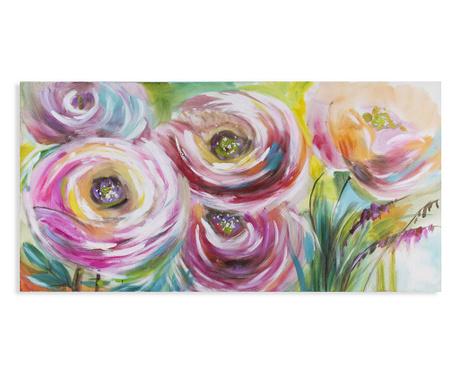 Slika Pink Rose 70x140 cm