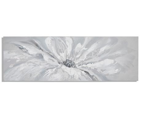 Slika White drops 50x150 cm