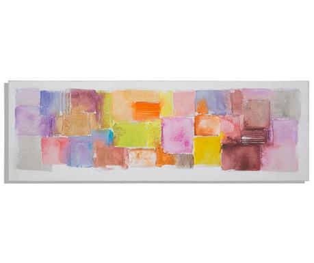 Картина Rain 50x150 см