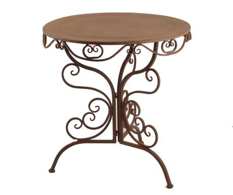 Vrtna miza Corten
