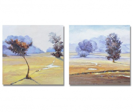Set 2 tablouri Landscape 60x60 cm