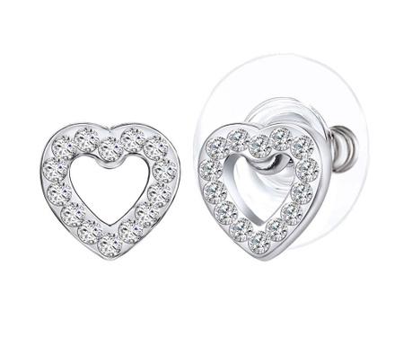 Romantique Silver Fülbevaló