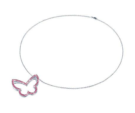 Butterfly Pink Nyaklánc függővel