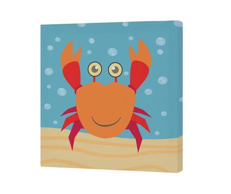 Tablou Crab 27x27 cm