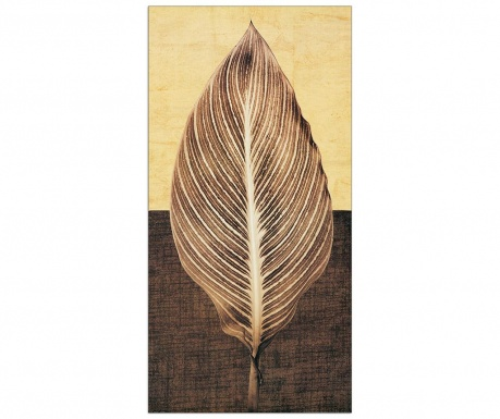 Картина Palm Leaf 60x120 см