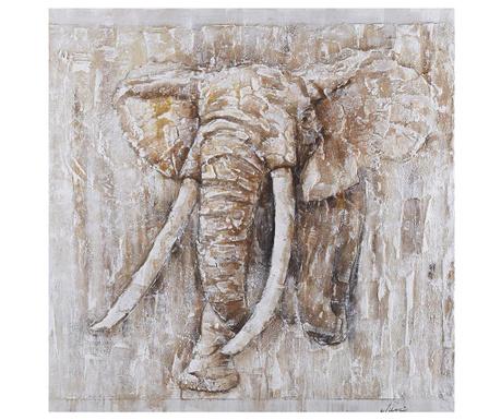 Картина Elephant Art 80x80 см