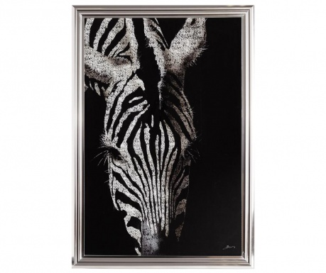 Zebra Kenya Kép 68x98 cm