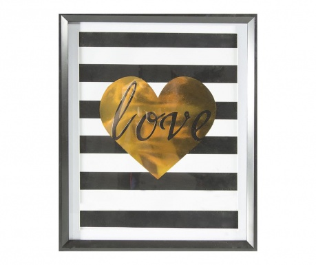 Obraz Stripes Love 40x50 cm