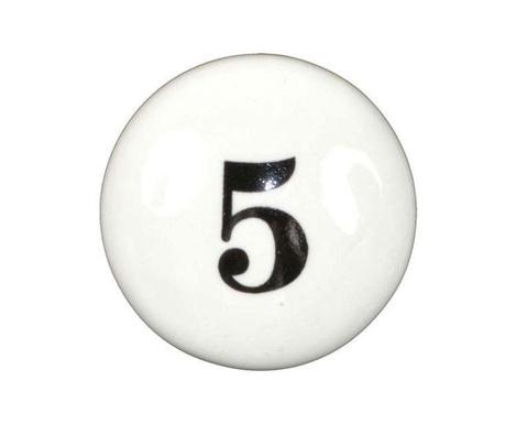 Buton pentru sertar Number Five