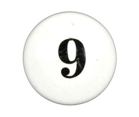 Buton pentru sertar Number Nine