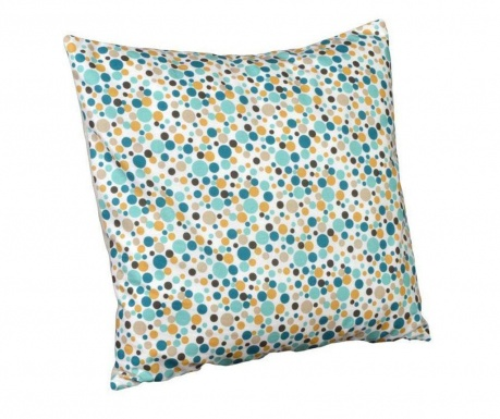 Perna decorativa Polka Dots Chic Blue 40x40 cm