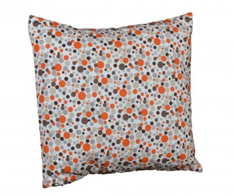 Perna decorativa Polka Dots Chic Orange 40x40 cm