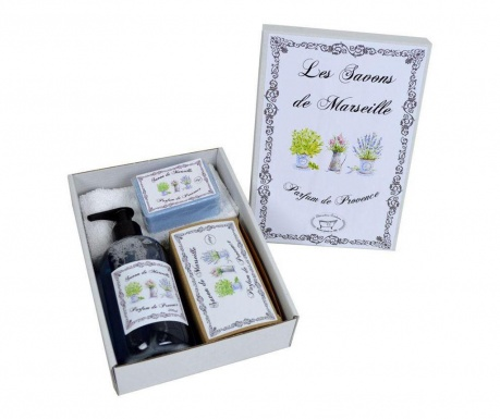 4-dijelni set za kupaonicu Parfum de Provence