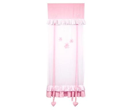 Set 2 draperii Tenda Rosa 60x160 cm