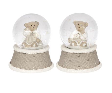 Set 2 decoratiuni Snowball
