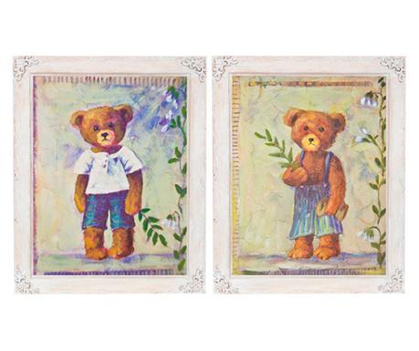 Комплект 2 картини Vintage 37x42 см