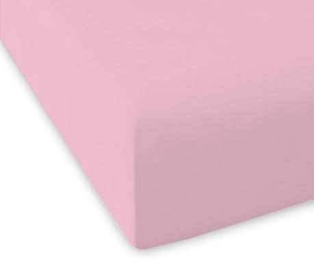 Cearsaf de pat cu elastic Casual Rose