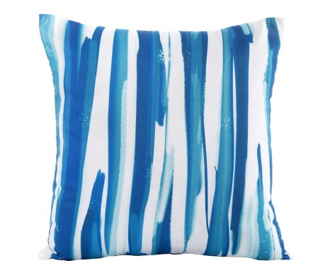 Fata de perna Strips Blue White 45x45 cm