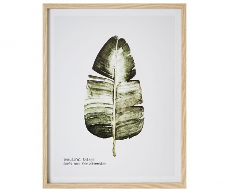 Slika Beautiful Leaf 45x57 cm