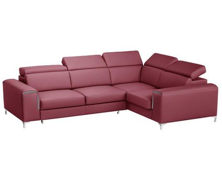 Разтегателен десен ъглов диван Backstage Red