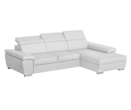 Десен ъглов диван Twinset White
