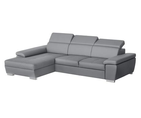 Ляв ъглов диван Twinset Grey