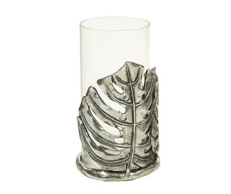 Suport pentru lumanare Leaf Silver