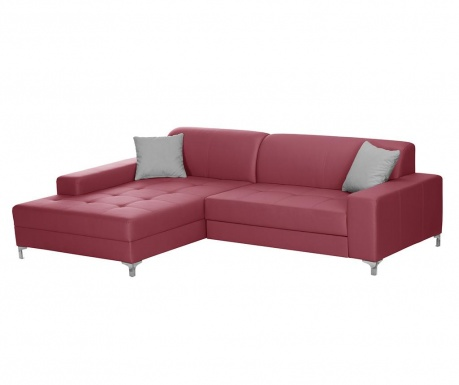 Ляв ъглов диван Symbole Red