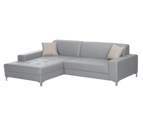 Разтегателен ляв ъглов диван Symbole Grey