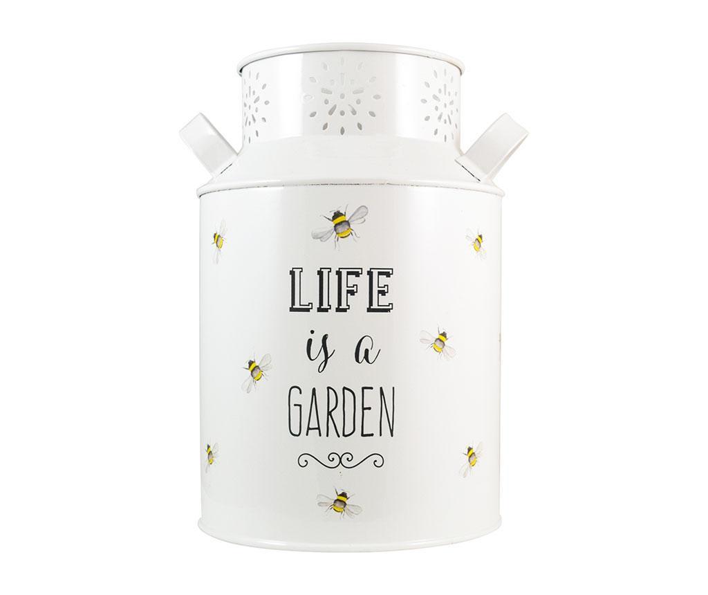 Ukrasna posuda Life is a Garden