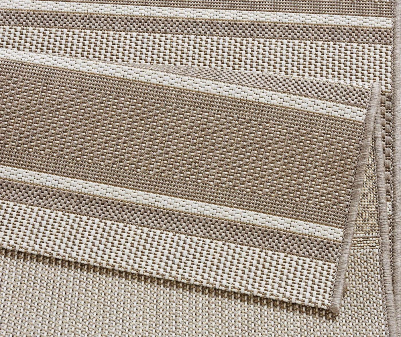 Tepih za vanjski prostor Meadow Strap Beige 200x290 cm