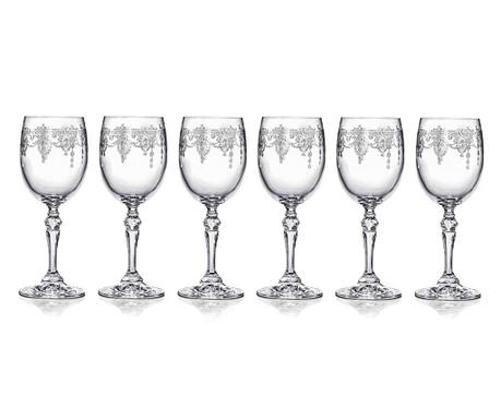 Set 6 čaša za bijelo vino Catherine 250 ml