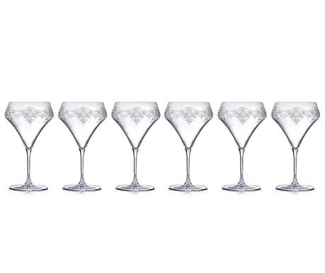 Set 6 čaša za cocktail Aram 460 ml