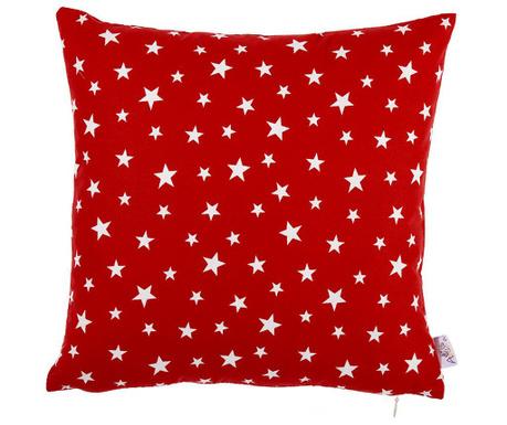 Obliečka na vankúš Red Stars 35x35 cm