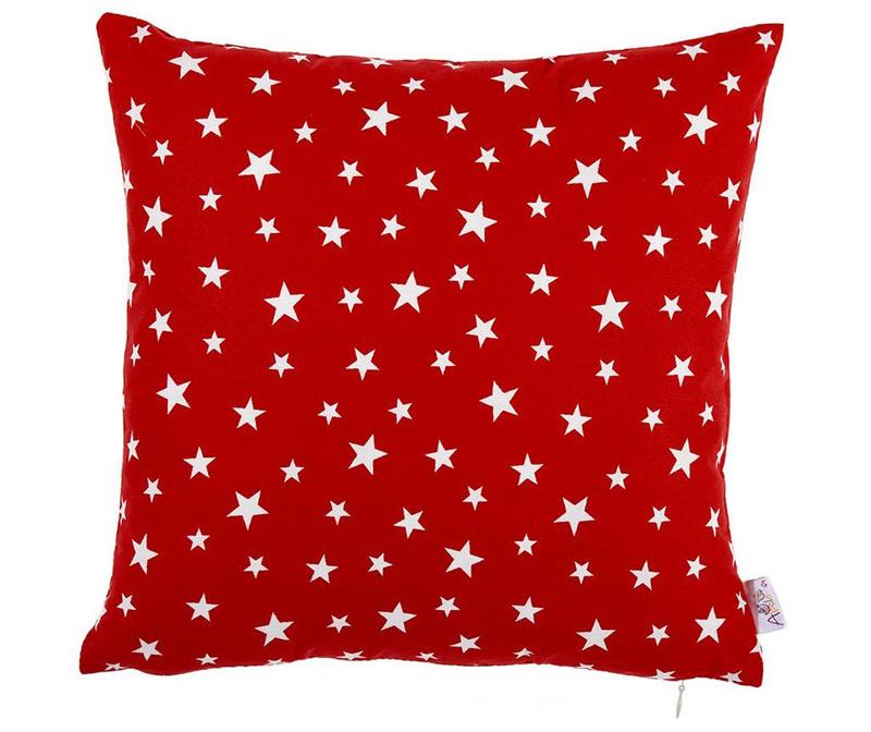 Red Stars Párnahuzat 35x35 cm