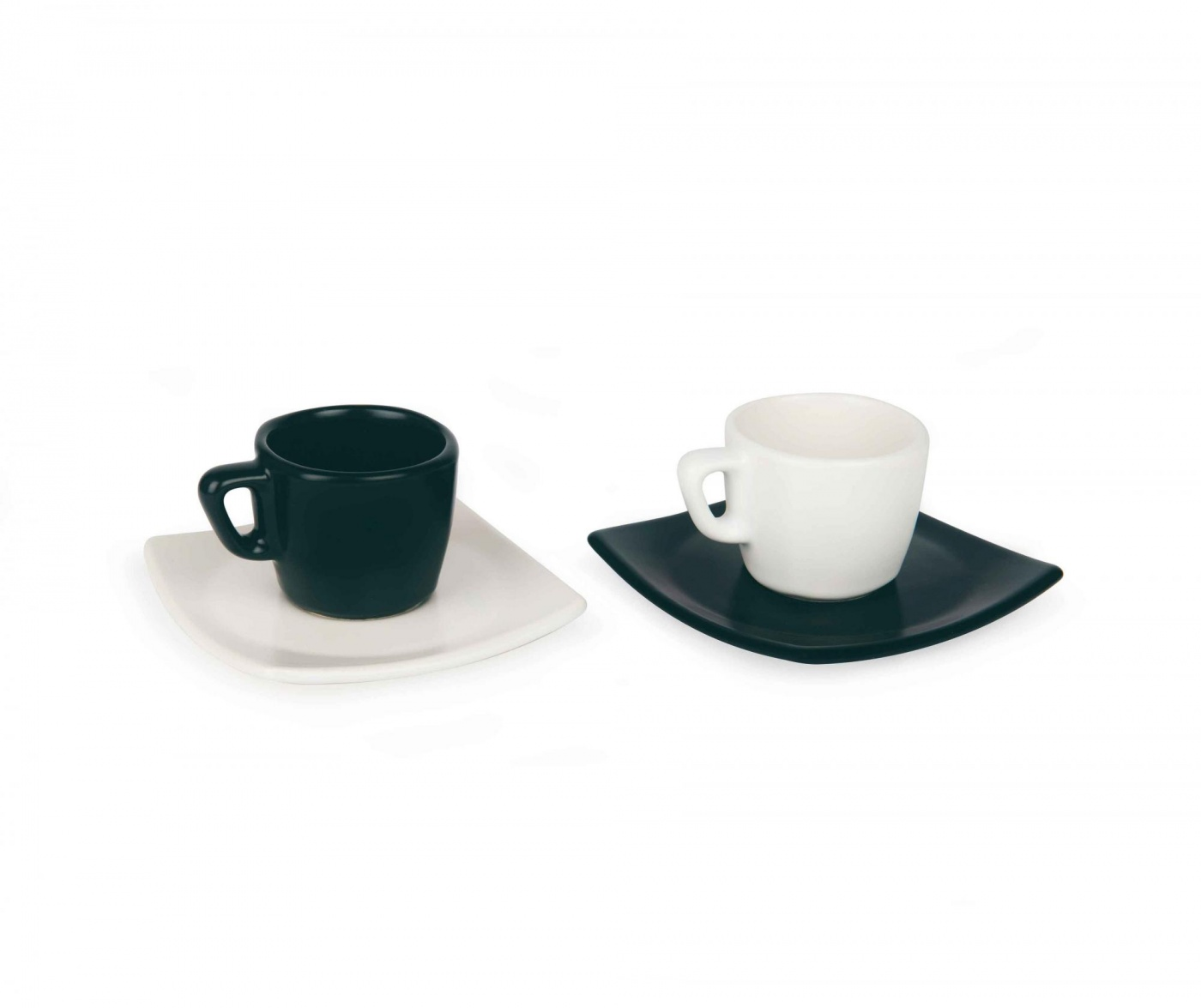 Eclipse 6 db Kávés csésze és 6 db kistányér