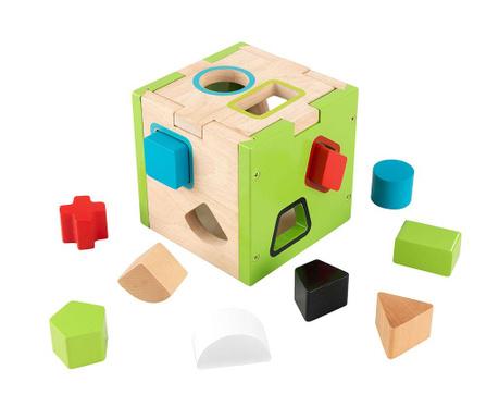 Παιχνίδι ταιριάσματος σχημάτων Cube Shape Colors