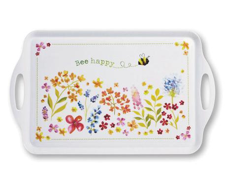 Tava pentru servire Bee Happy
