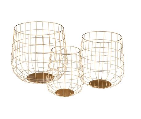 Комплект 3 коша Golden Cages