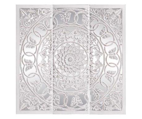 Sada 3 dekorací se zrcadlem Talla Style